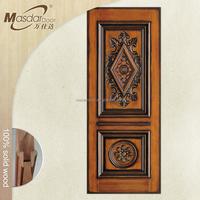 Wooden door frame decoration designs in India