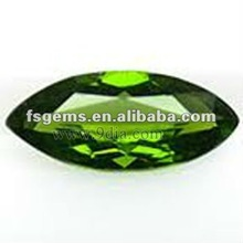 Marquise Chrome Diopside for Silver and Gold Jewelry