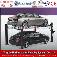 The European Hydraulic 4 Post Car Stack Parking System