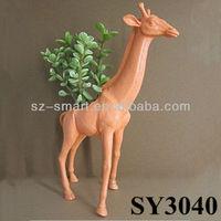Garden pot for flower giraffe animal terracotta flower pot
