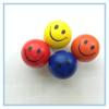 Hight Quality Yellow 70mm PU Smiley Balls Wholesale