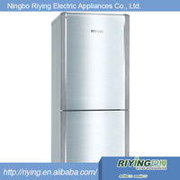 Double door blue led refrigerator light