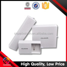 Popular Recyclable White Sliding Packaging Box for Jewelry