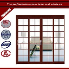 Veranda sliding door with tempered glass at factory price