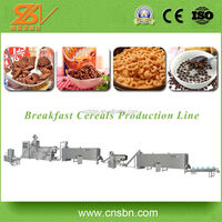 Fully Automatic Wholesale China Import breakfast produciton machine/Corn Flakes Manufacturing Plant