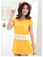 Verão elegante estilos quentes on line moda atacado amarelo vestidos de enfermagem