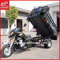 Hot popular China new heavy duty cargo tricycle / power three wheel motorcycle for sale in Cote d'Ivoire market