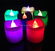 Cheap Promotional Waterproof Flashing LED Candle, Candle With LED, Floating Candle