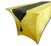 high bar table cover/square spandex bar table covers/beer table cover cheap