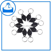 hot sell promotion gifts led flashlight keychain with battery