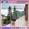 8mm 10mm 12mm tempered glass fence panels for buildings