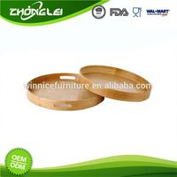 Make To Order Top Class SGS Lucite Round Tray