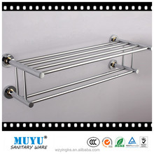 brass chrome towel shelf towel rack