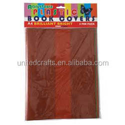 10pc/lot A4 Size pvc Pages adhesive Book cover foil (No color pure Repair Waterproof stain resistant)