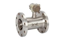 liquid turbine flow meter RO/ demin water 24V DC/ Battery powered LED display explosion