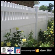 hot sale lowes vinyl fence panels, vinyl fence boards, pvc fence cheap