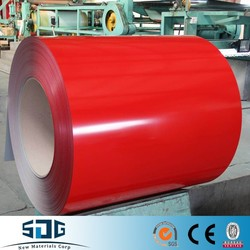 Red Color Coated Steel Coil