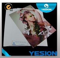 Yesion 2015 Hot Sales ! Cheap Price Premium Waterproof 260gsm RC Glossy/ Woven/ Silky Photo Paper A4 Size