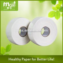 Manufacturer supply facial tissue paper jumbo roll / double sided tissue paper jumbo roll