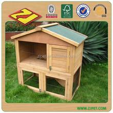 2015 Hot Sell Custom Wooden Rabbit Hutch (BV SGS TUV FSC)