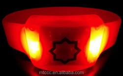 Alibaba wholesale colorful led light bracelet promotional gift