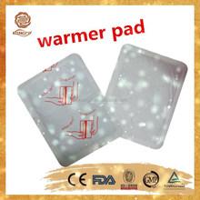 2015 new prodcut china factory wholesale mini iron powder hand heating pad/patch