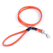 new year gifts competitive price wholesale manufacturer supply real leather pet lead smart dog leash