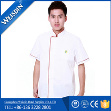 hot sell restaurant white chef uniform sets