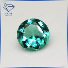 2015 new jade green round brilliant cut purple glass rough diamonds, stone beads, glass bead making machine