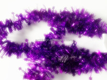PET/PVC Fashion Wholesale Jasmin Flower Garland Styrofoam Wreath Christmas PET decoration family party tinsel decor