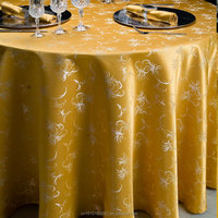 Wedding supplies round table cloth gold table cover