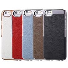 High quality Genuine cell phone leather case for iphone 6 ,Ncvm Tech ,protect signal