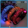 Necklace LED Flashing Dog Collar LED Pet Collar Night Safety Collars with teddy bear pattern