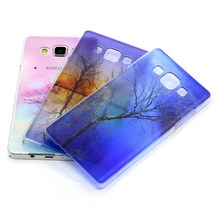 Best selling products! Simi-transparent phone case for Samsung Galaxy A3 A5 A7