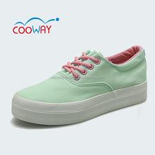 green fasshion girl canvas shoes,girls shoe munufacturers