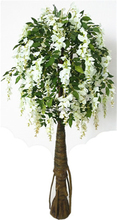 Artificial silk wisteria flower home party wedding garden floral decoration