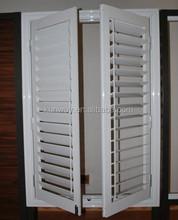 Two Panels Casement Aluminium Shutter Window