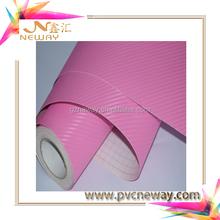 high quality carbon fiber vinyl with bubble free sticker for car wrap decoration