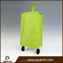 Made in china alibaba plain standard size customized grocery cart bag
