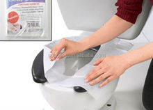 Eco-friendly flushable tissue paper toilet seat cover for travelling