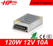 Durable and attractive smps 12 volt power supply Guangzhou factory constant voltage 120w universal power supply for tv