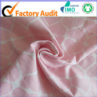 Single Jersey 100% Cotton Knitted Stock Lot Fabric
