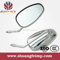 FLYQUICK high quality motorcycle chrome side mirrors for KYMCO CK125 from china manufacturer