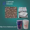 decorative concrete molds silicone rubber,silicone rubber for gypsum molds making
