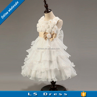 white frock design for baby girl chiffon eastern dresses