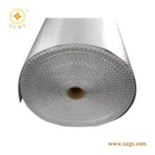 Woven Cloth Bubble Foil Insulation , bubble foil insulation with reinforced net