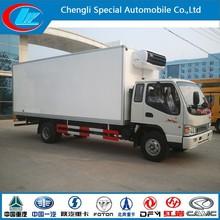 Refrigerator truck of 4*2 mini jac car 6*4 jac car truck 8*4 heavy duty jac cargo truck for sale