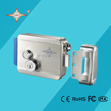 electromechanical lock double loose cylinder / computer key / push button