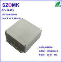 60*150*178mm IP65 With Hanger Electronical Plastic Junction Box Enclosure