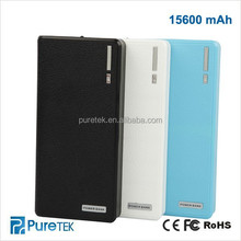 Portable Mobile Power Bank 15600mAh - Power Bank Travel Charger External Battery Pack For Apple ios 8 ios8.1/Android 5.0 Lolipop